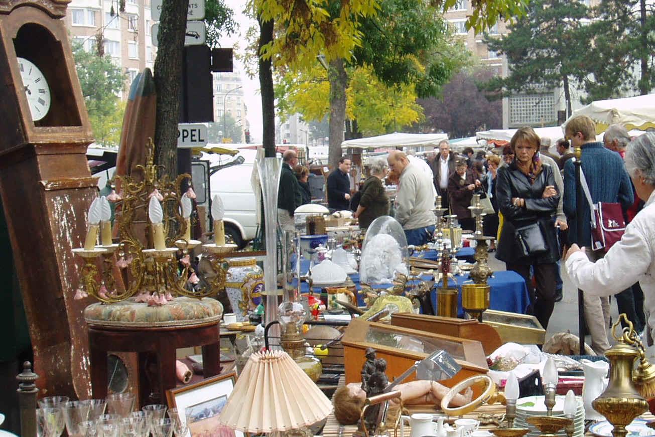 Flohmarktplaner frankreich flohmarkt paris puces de la - 30 avenue de la porte de clignancourt ...